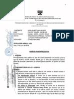 Confirman prisión  preventiva para juez Jacinto Salinas