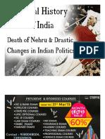 Nehru Death