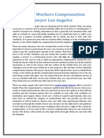 Contact Workers Compensation Lawyer Los Angeles