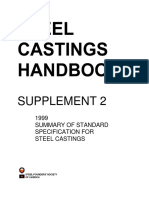 Supplement 2 - Summary of Standard Specifications for Steel Castings