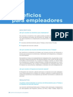 Beneficio Empleadores Ley Argentina