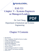 Chapter 9 - Engineers as Managers and Leaders