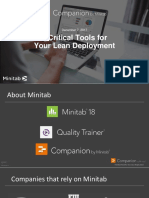 5 critical toolsforyour lean deploymen twith companionbyminitab-