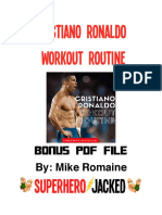 CR7 workout routine