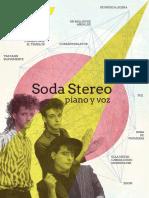 Soda Stereo Para Piano y Voz