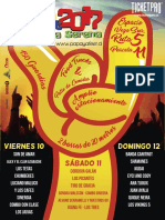 Afiche Mano muestra evento