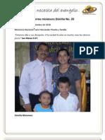 Informe misionero Quibdó - Septiembre de 2010