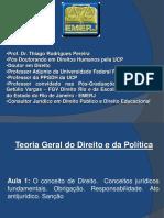 Apresentação Teoria Do Direito e Da Política