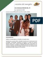 Informe Misionero Santa Marta - Septiembre de 2010