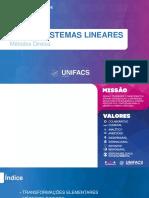 Aula 04 - Sistemas Lineares (Métodos Diretos) (Com Anotações 27-08 - b)
