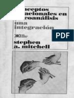 conceptos relacionales en psicoanalisis stephen mitchell