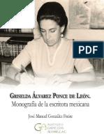 Libro Monografia Gri selda Alv are z 2019 ISBN 978-607-96970-1-3