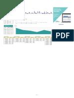 Plantilla de Excel Para Entrenamiento Deportivo 1