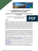 LA ADMINISTRACIÓN VIAL Y SU EVOLUCIÓN E IMPLEMENTACIÓN EN COLOMBIA