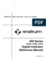 Manual Book Rinstrum r400 Series