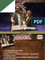 001 Como Testar Um Profeta - 10 Horas