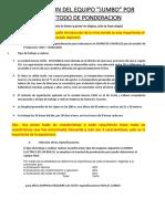 SELECCION DE JUMBO POR METODO DE PONDERACION.docx