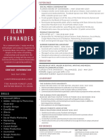 ilani fernandes resume policy fellowship 2019