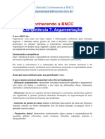 Conhecendo a BNCC - Competência 7