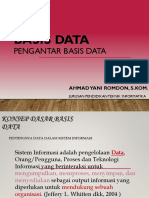 345285409 Week 1 Pengantar Basis Data Pptx