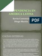 Independencia en America Latina