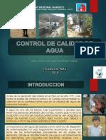 CONTROL DE CALIDAD DEL AGUA