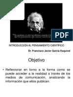 Introducción al pensamiento científico (análisis de noticias)