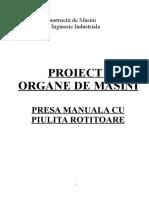 Rezist Materialelor Organe Masini X XI 1989