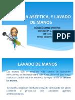 4. TECNICA ASÉPTICA, NORMAS DE BIOSEGURIDAD Y LAVADO.ppt