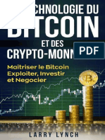 Bitcoin_ La Technologie Du Bitcoin Et Des Crypto-monnaies, Maitriser Le Bitcoin - Exploiter, Investir Et Negocier (Livre en Francais_ Bitcoin French Book Version) (French Edition) - Larry Lynch