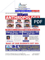 Anthropology Test Series Cse 2019 June