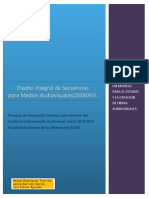 Diseño Integral de Secuencias Para Medios Audiovisuales (Informe Final) Como Preparar Una Clase