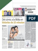 Del Comic a la Biblia Peru21