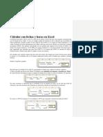 Fecha y Hora en Excel