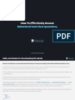 How to Effectively Answer Behavioral Interview Questions
