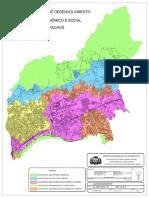 Mapa Do Plano Diretor Lei 6.055 - 2004