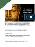 Frases de Gautama Buda