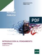 Introducción Al Pensamiento Científico 2019-20