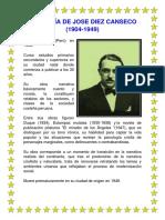 Biografía de Jose Diez Canseco