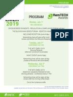 Agenda Emea 2019
