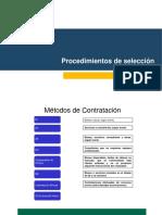 3.2 Procedimientos de Seleccion 2
