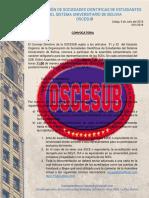 convocatoria OSCESUBnuevo