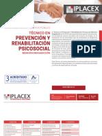 Malla Técnico en Prevención y Rehabilitación Psicosocial Mención Drogadicción Semi Presencial