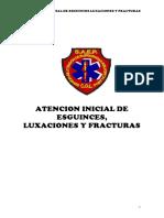 Guia de Esguince Luxacion y Fracturas