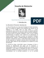 La Filosofía de Nietzsche