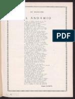 Dicenta, Joaquín - El Andamio