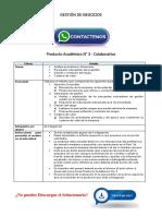 Gestión de Negocios Producto Académico N°3