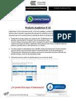 Herramientas Informáticas Para Las Finanzas Producto Académico N°3