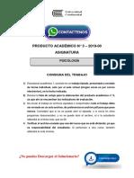 PSICOLOGÍA Producto Académico N°3