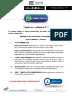 Técnicas de Modificación de Conducta Producto Académico N°3